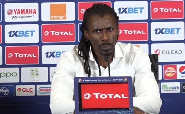 CAN 2019 - Aliou Cissé : « j'avais promis d'amener le Sénégal en finale »