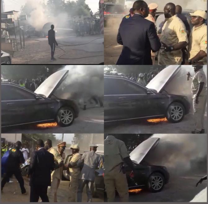 Limousine de Macky Sall en feu: Serigne Khassim Mbacké réclame une enquête