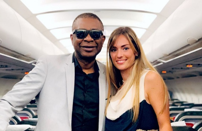 PHOTOS - Direction Égypte: Youssou Ndour pose avec la femme de Gana Guèye