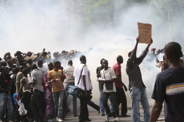 Dakar : peur dans la cité