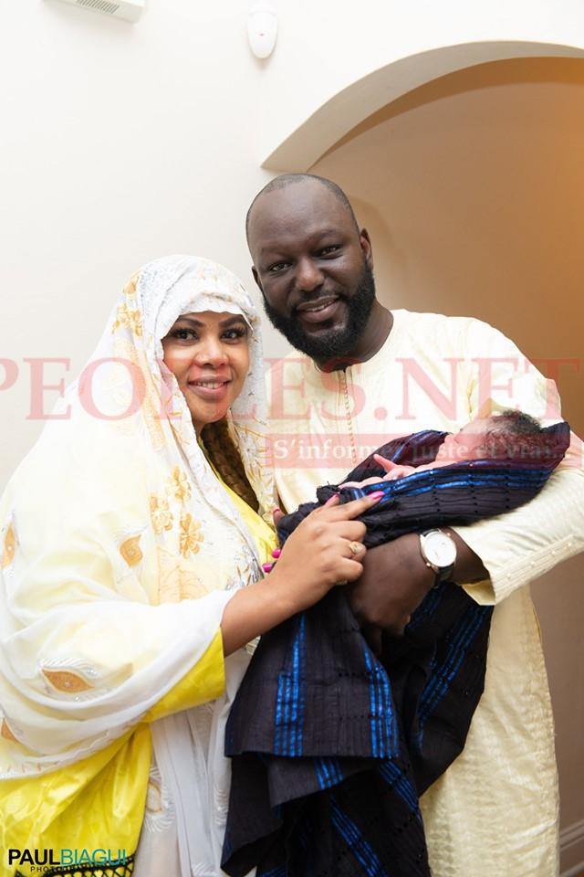 PHOTOS - Baptême de la fille de Amina Poté à aux USA. Tout ce que vous n'avez pas vu en Images, Regardez !