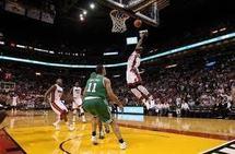 Basket/NBA :Troisième victoire pour Miami, troisième défaite pour Boston