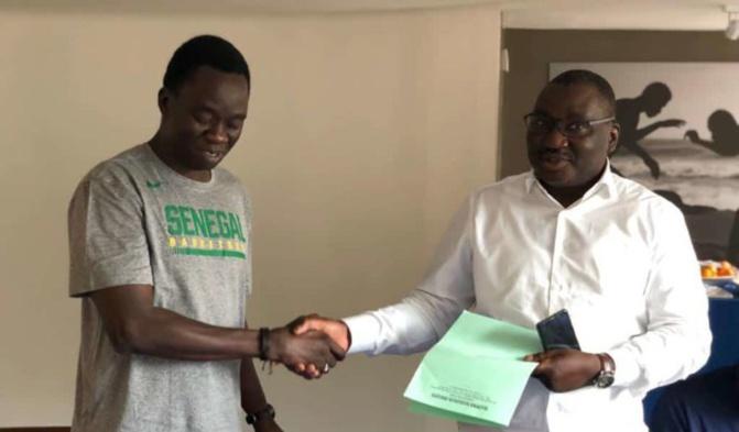Basket: la Fédé renouvelle le contrat de  Cheikh Sarr