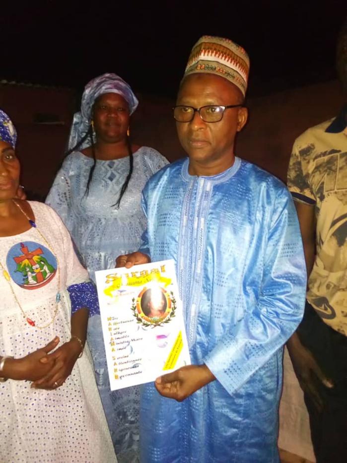 Kaolack: Les femmes catholiques rendent hommage au maire Mariama Sarr