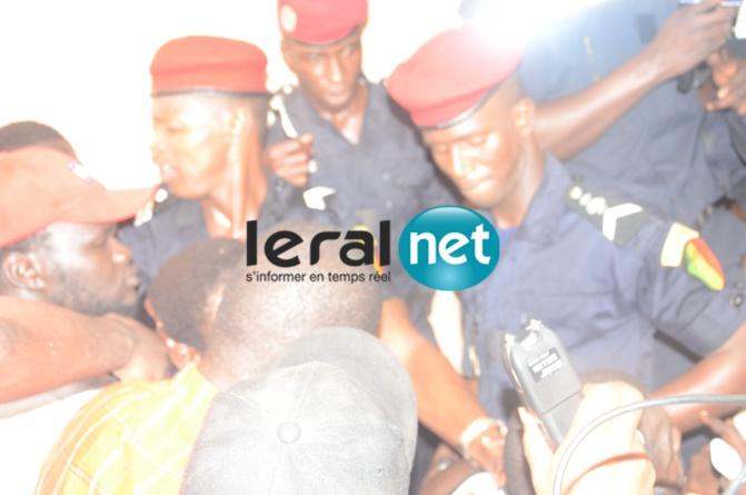 Arrêt sur images: Modou Lô dans le véhicule de la Police....