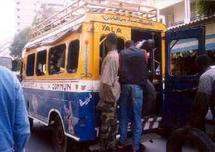 Ambiance Inhabituelle : Dakar sans ses « cars rapides »