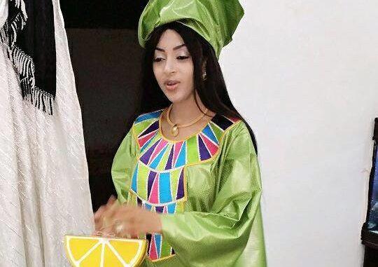 PHOTOS -  Sagnsé Mode Tabaski: Sokhna Aïdara Madame Seck fait une entrée très remarquée !