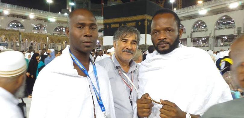 PHOTOS - Les images de Pape Cheikh Diallo et Aziz Niane à la Mecque !
