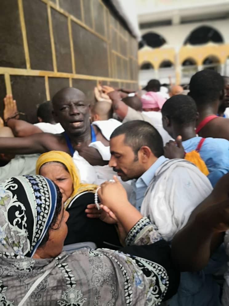 PHOTOS - Hajj 2019: Les images exclusives de Aly Ngouille Ndiaye et Wilane devant la Kaaba