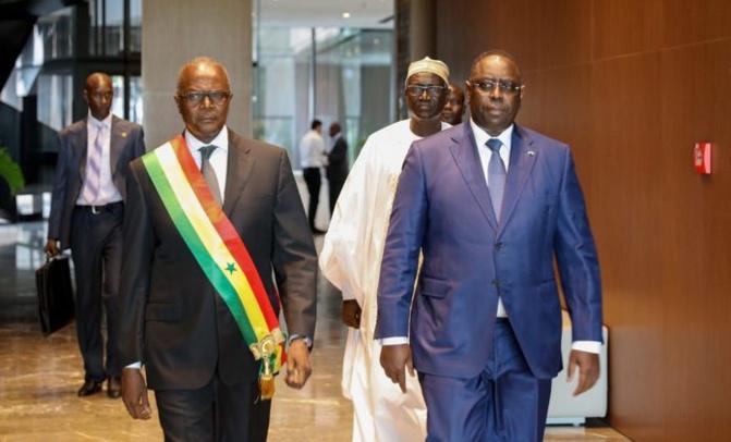 Une des Sphères Ministérielles baptisée: Macky Sall immortalise Ousmane Tanor Dieng