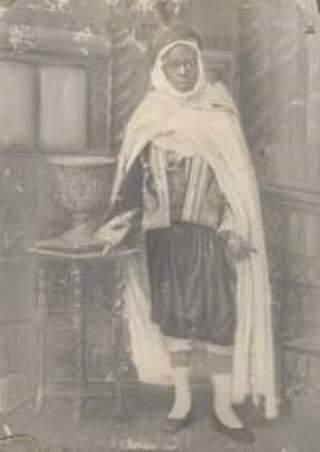 Mame Khalifa Niasse au Palais Royal de Fez en 1910