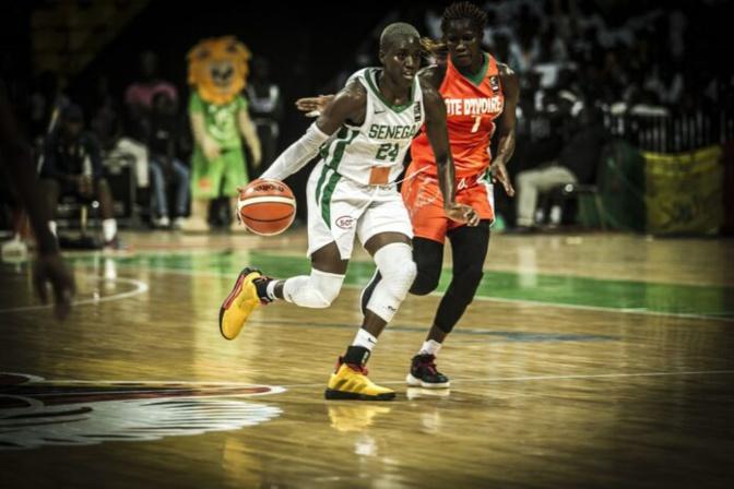 Afrobasket 2019 : Entrée réussie des Lionnes face aux éléphantes (77-36)