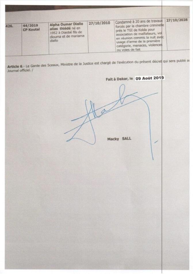 Grâce présidentielle : Khalifa Sall ignoré