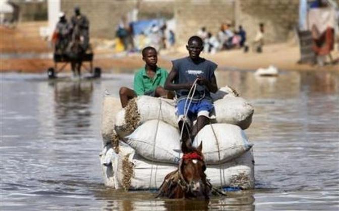 Retour des inondations à Kaffrine: les populations passent la Tabaski dans les eaux