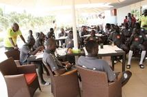 CAN 2012 : Les lions entament la première phase de leur regroupement