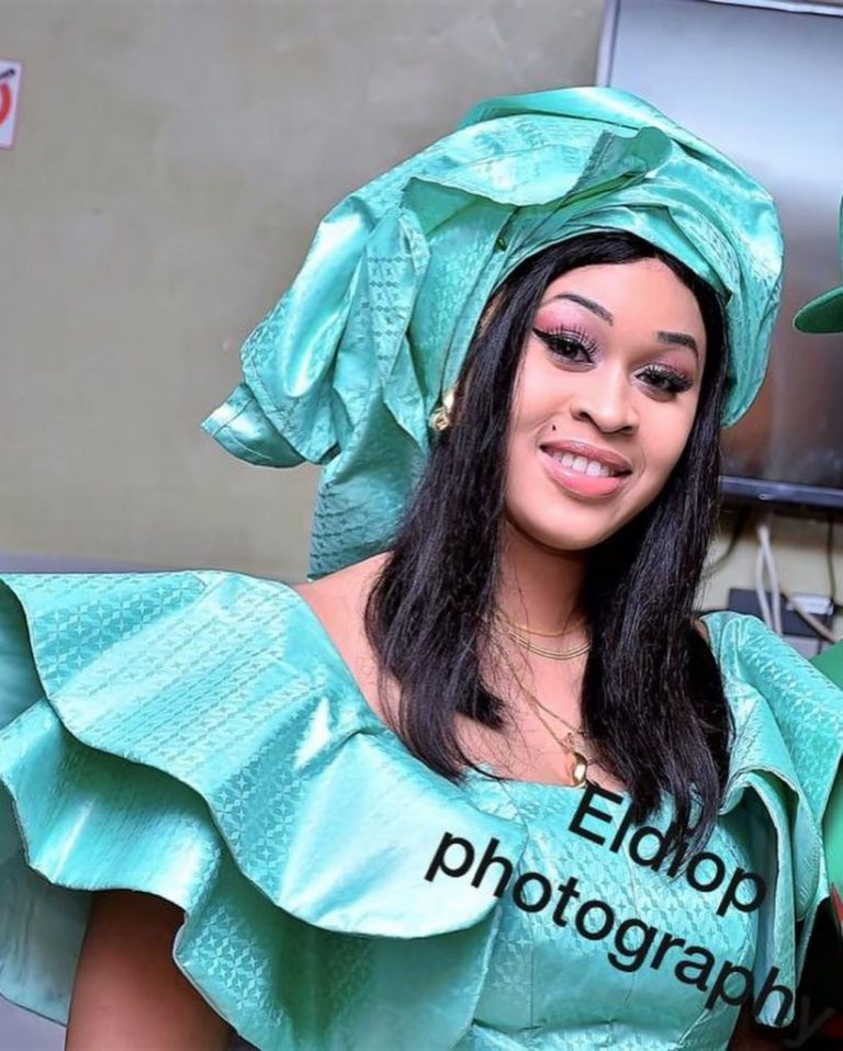 PHOTOS - Tabaski 2019: Admirez le «Tagaalou» de Ndèye Astou Sall, Miss Sénégal