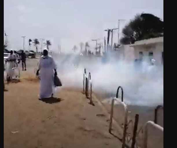 VIDÉO Sénégal  Prison de Rebeuss : Une manifestation de femmes « Khalifistes » dispersée par la police