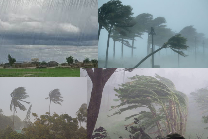 Orages et pluies d'intensités modérées à assez fortes, prévues ce samedi (Anacim)