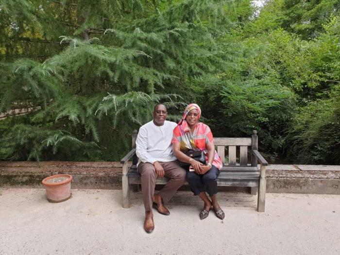 PHOTOS : le couple Sall en mode «slow-track » au Sud de la France