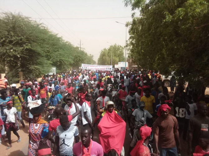 Manifestation à Matam: Les populations interpellent le Président Sall et exigent le respect de ses promesses