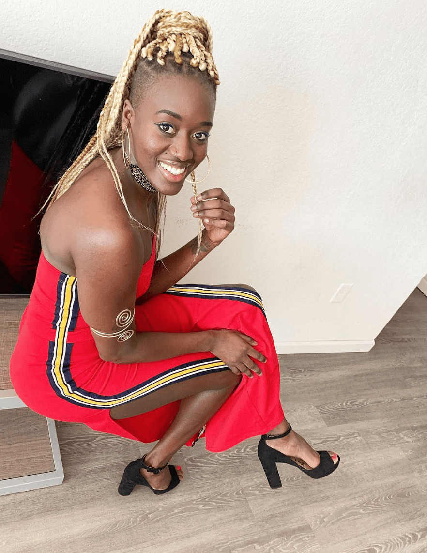 PHOTOS - Tenues aguicheuses: La basketteuse Yacine Diop fait craquer les hommes