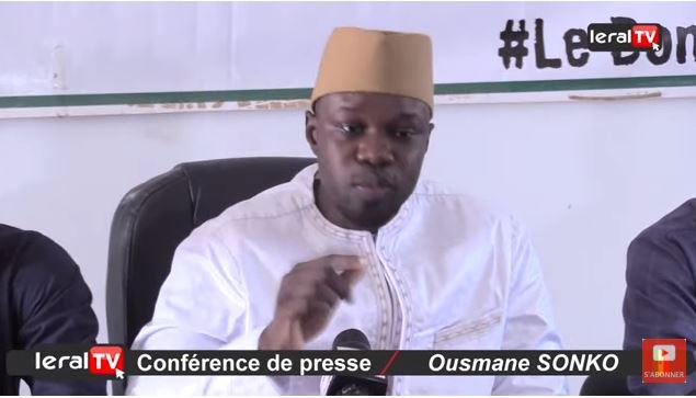 Ousmane SONKO ou l'incarnation achevée de l'INDECENCE ! (Dr Ibrahima Mendy, APR)