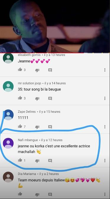 Korka, alias «Jeanne » dans la série « Moeurs », fait actuellement le buzz sur les réseaux sociaux