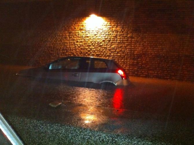 Forte pluie sur Dakar : le tunnel de Soubédioune inondé
