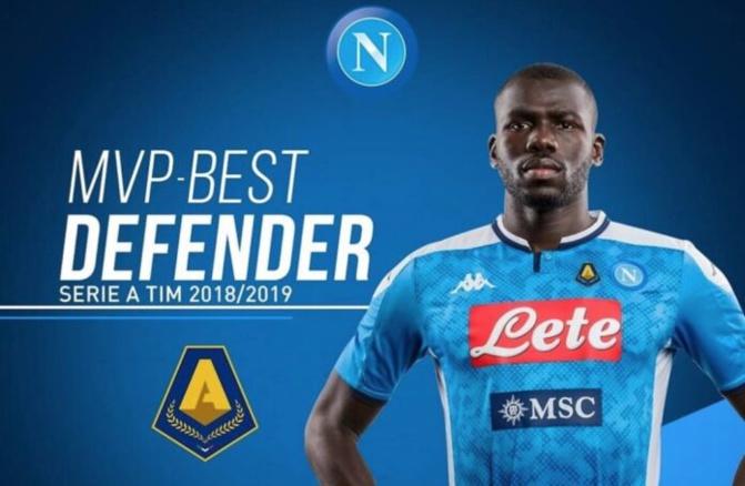 Série A : Koulibaly désigné meilleur défenseur de la saison 2018/2019