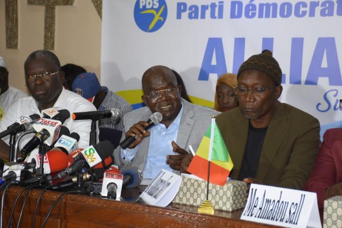 Souleymane Ndéné Ndiaye aux frondeurs du Pds : « ils vont perdre du temps et de l'énergie »