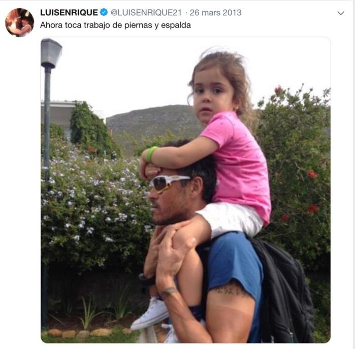 Luis Enrique : Xana, la fille de l'ancien entraîneur de Barcelone est morte à l'âge de 9 ans