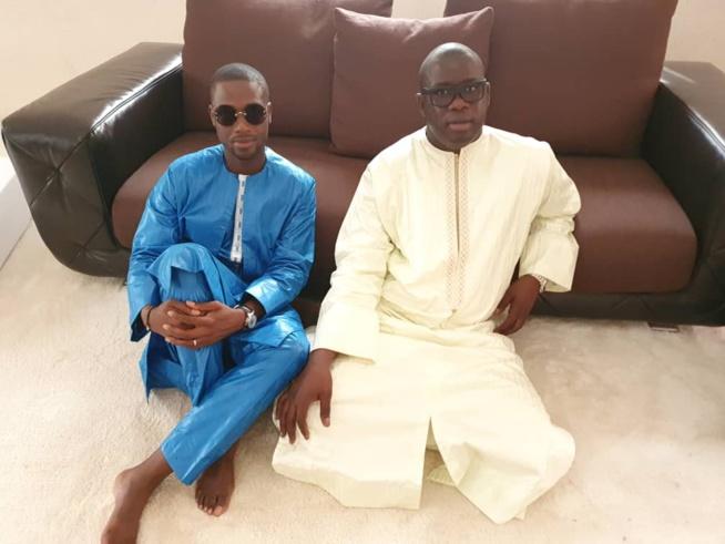 PHOTOS - NDINDY: Le PDG du Groupe Futurs Médias, Birane Ndour chez Serigne Abdou Karim Mbacké