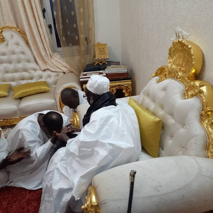 TOUBA : Me Madické Niang et le Khalife des Mourides, une longue histoire d'amitié, la preuve en images !