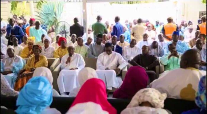 Présentation de condoléances: Macky Sall chez feu Amath Dansokho et Serigne Mosou Kara