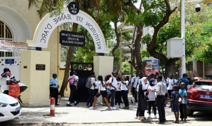 Nouvelle manifestation à l'Institution Sainte Jeanne d'Arc: Cinq personnes arrêtées