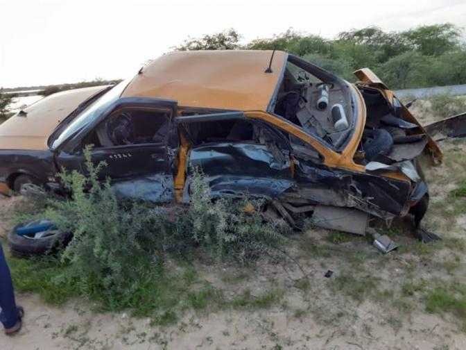 Terrible accident à Gandiol: Les premières images prises après la collision