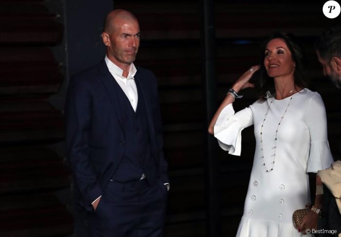 Zinédine et Véronique Zidane sur leur 31 pour soutenir le capitaine Sergio Ramos