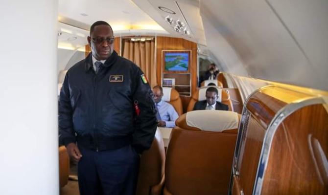 Les explications de la Présidence sur l'immobilisation de l'avion commandement «Pointe Sarène»