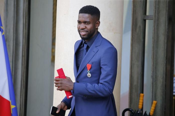 Le footballeur Samuel Umtiti victime d'un cambriolage alors qu'il était au stade