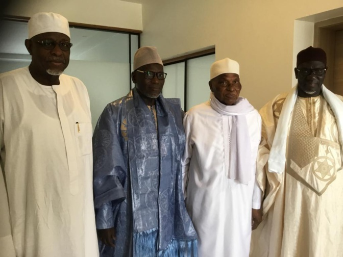 Inauguration Massalikoul Jinaane: Le Khalife général des mourides a invité Me Abdoulaye Wade