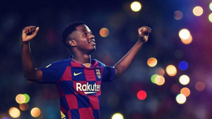 Salaire, clause libératoire, frère de Messi: les détails du contrat d'Ansu Fati au Barça
