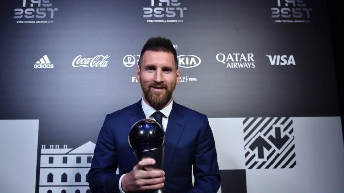 Lionel Messi remporte le prix de meilleur joueur FIFA - The Best 2019