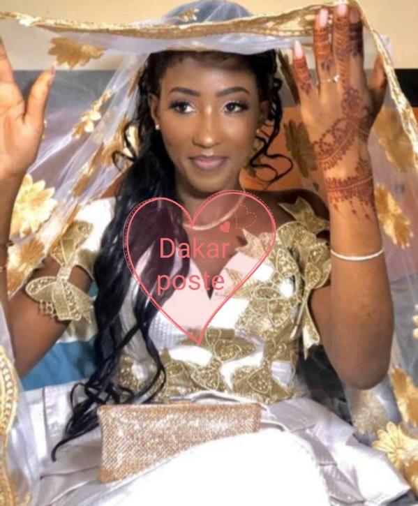 Fatima Aïdara, L'épouse d'Amadou Sall rayonante le jour de son mariage