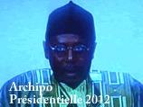 Présidentielle 2012 - Temps d'antenne de Mor Dieng