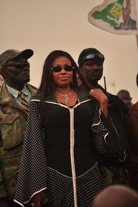 [Photo] Diouma Dieng au meeting du M23, à Rufisque: la grande dame qui refuse de vieillir
