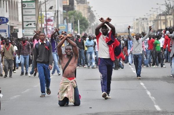 """""""Le Sénégal qui perd"""" (Chouaib Coulibaly)"""