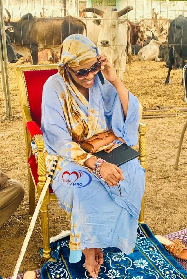 Magal 2019 : Voici les premières images de Sokhna Aida Diallo à Ngabou