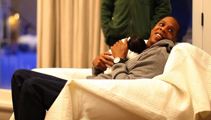 Premières photos de Beyonce et de sa fille Blue Ivy Carter