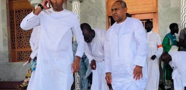 Massalikoul Jinaan: Ahmad Ahmad a visité la mosquée