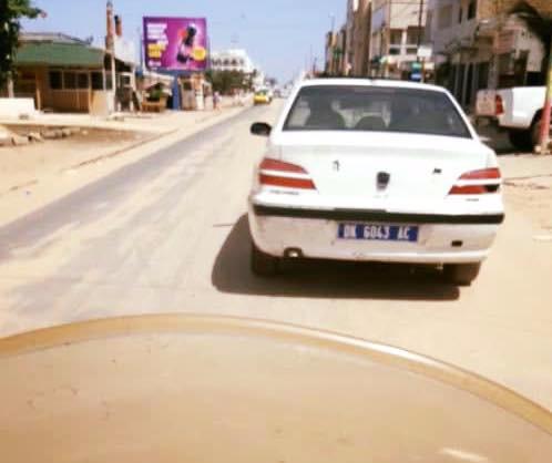 Insolite: quand deux véhicules qui portent la même immatriculation, se croisent